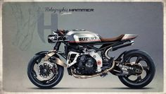 Racing Cafè: Cafè Racer Concepts - Suzuki GSX-R 1000 by Holographic Hammer