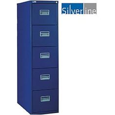 Proven in the market for quality and design. FIRA certified, Free UK mainland delivery on Silverline 5 Drawer Filing Cabinet. Drawer Filing Cabinet, Filing Cabinets, Drawers, Storage, Metal, Design, Decor, Desktop, Purse Storage
