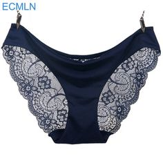 2017 New arrival ECMLN women'slace panties seamless panty briefs underwear intimates  Price: 1.28 USD