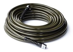 water right garden hose in olive (also comes in cranberry, eggplant, espresso)