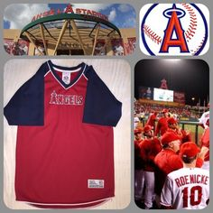 Youth Angels Baseball Jersey Awesome jersey. Size 10/12 youth True Fan Tops Tees - Short Sleeve