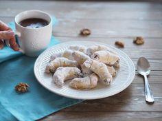 Ořechové rohlíčky   Na skok v kuchyni