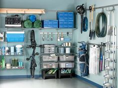 Organized garage ~ This is what I need ~ Like