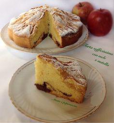 Torta+sofficissima+con+mele+e+nutella