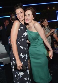 Michelle Dockery fangirling over Mad Men's Jessica Pare.