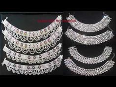 There are a few factors to consider when choosing anklet designs. You see, if you want something, yo Payal Designs Silver, Silver Anklets Designs, Silver Payal, Anklet Designs, Gold Anklet, Gold Wedding Jewelry, Fashion Jewelry, Jewelry Art, Antique Jewelry