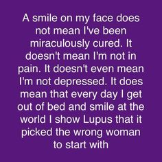 Lupus: picked the wrong girl Chronic Illness, Chronic Pain, Fibromyalgia, Lupus Quotes, The Wrong Girl, Intracranial Hypertension, Spoon Theory, Lupus Awareness, Crohns