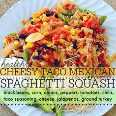 Cheesy Taco Spaghetti Squash! – Simply Taralynn
