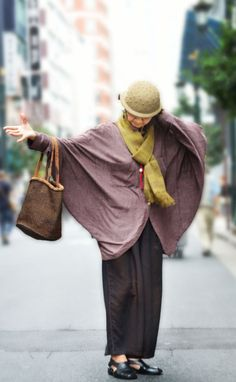 Fashion for the young at heart! A different take on what it means to get older in Japan