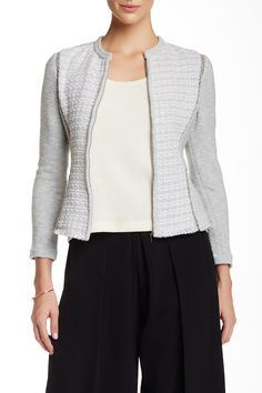 Rebecca Taylor | Classic Tweed Fitted Jacket | Nordstrom Rack