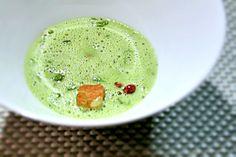 Joel Robuchon Paris - Pea soup