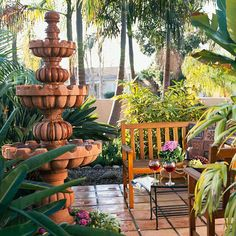 There's something about water that's serene and peaceful. Be sure to add it to your patio: http://www.bhg.com/home-improvement/patio/designs/patio-ideas/?socsrc=bhgpin022015soothingwithwater&page=2