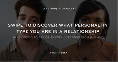 {THE AND} StoryDeck  Ask or answer questions to learn your relationship patterns.. Follow @producthuntlive