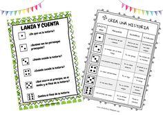 Otra interesante colaboración deLorena Garcia Chavarri, creadora del blog,IDEALEDUCA, se trata de un material muy bueno para trabajar la escritura creativa mientras tiramos los dados. http://idealeduca.blogspot.com.es/   pdf Crea …