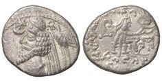 Phraates IV. 38 - 2 B.C.. AR Drachm, - Greek Coins - Coins