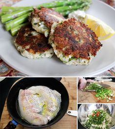 Spicy Haddock Fish Cakes.  Today's dinner - I'm substituting haddock for grouper since that's what I have