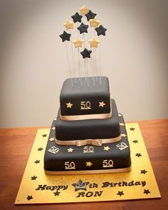 Birthday cakes for men turning 50 Birthdays cakes Pinterest