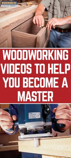 Watch our free woodworking videos or become a member to access our entire woodworking video library. Whether you're on a mobile device or desktop computer we can help you learn the woodworking techniques you need to build your next wood project with ease.