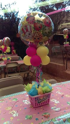 Shopkins Centerpiece #shopkins