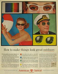 a68f40eb4fc 1960 AO. Optical Vision Resources · Vintage Eyewear 1960