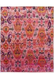 a stunning ikat rug from abc carpet - a bargain at $8799!