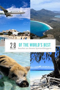 28 of the best beaches in the world as chosen by travel bloggers. What does best beach mean to you? Find out what in means to many top travel bloggers