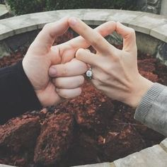 Now it's time to spread the news. Get inspired with these creative engagement announcement photos and show off your new ring. Engagement Quotes, Engagement Pictures, Wedding Engagement, Engagement Session, Engagement Rings, Engagement Ideas, Engagements, Announcing Engagement, Engagement Outfits