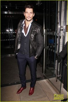 David Gandy at Guess VIP Dinner by Priyanka Chopra