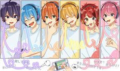 Anime Best Friends, Vocaloid, Kawaii Anime, Chibi, Strawberry, Wallpaper, Prince, Cute, Pictures