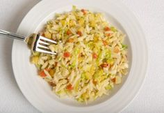 orzo with sweet winter vegetables