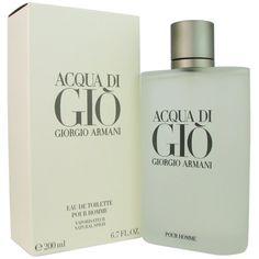 Acqua Di Gio By Giorgio Armani For Men. Eau De Toilette Spray 6.7 Ounces GIORGIO ARMANI http://www.amazon.com/dp/B000C213ES/ref=cm_sw_r_pi_dp_0zEWtb0WYF714F8X