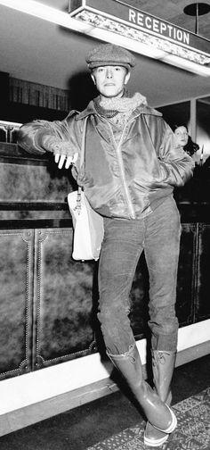 David Bowie. Hotel Kempinski in Berlin, December 1977