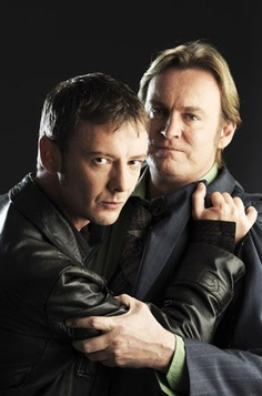 Life on Mars/ Mad Dogs- john simm, phil glenister These two worked so well together! Mars Tv Show, State Of Play, Tv Icon, Detective Series, Bbc Tv Series, Terry Pratchett, Life On Mars, British Actors, People