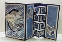 Debbie's Designs: Building Block Card & Recap!