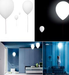 Balloon Lamps...sweet