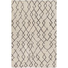 Surya Hand-Knotted Canalasso Wool/ Rug