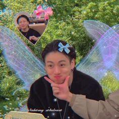 Matching Pfp, Matching Icons, Anime Scenery, Bts Jimin, Taekook, Wall Collage, Fairy, Kpop, Pretty