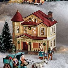 Whole Home®/MD 'Village Collection' Lighted Residence - Sears | Sears Canada #Sears #Wishlist