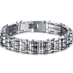 Bike Chains Stainless Steel Bracelet for Harley Davidson Biker ML1075