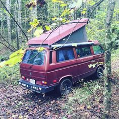Low key camping. #vanagon #vanagon #awesomelyweird #dadventure #momandadventure