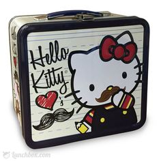 Hello Kitty - Loves Moustache - Lunch Box