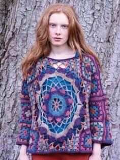 rowan yarns!Larch crochet pattern in Rowan Knitting & Crochet Magazine 50
