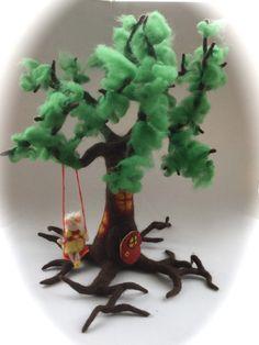 Größe Elfen-Baum.Gefilzt. von Filz-Art. auf DaWanda.com