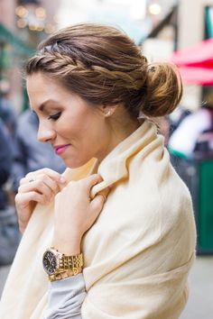 Braided Updo | The Teacher Diva