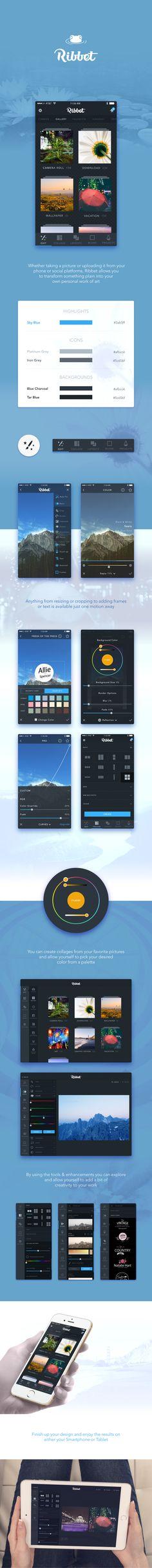 Ribbet for mobile on Behance