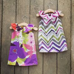 Floral Ruffle Neck Beach Dress chevron baby by ShelbyJaneandCo
