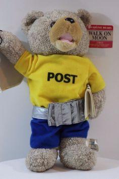 "Stuffed Animal Teddy Bear Headline 1969 Walk On Moon 13"" Doll Plush"