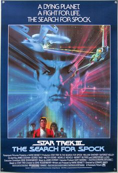 STAR TREK III: THE SEARCH FOR SPOCK.