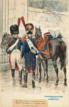 Granatieri a cavallo della guardia dei consoli