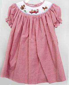 4958eff7cce 15 Best Smocked Christmas dress images